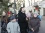 """Saugaus eismo mokyklos pamoka-ekskursija """"Vilniaus senamiesčio gatvelės - kaip jomis vaikšto, važinėja dabar ir seniau"""""""